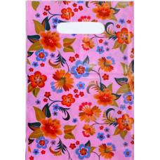 Пакет подарочный Цветочки