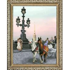 Набор для вышивания крестом Краса і творчість Времена года. Лето (50912)