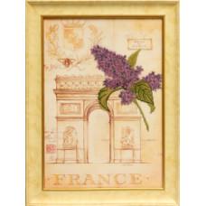 Набор для вышивания бисером Славяночка Романтик Франция (С-006 )