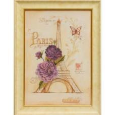 Набор для вышивания бисером Славяночка Романтик Париж (С-007)