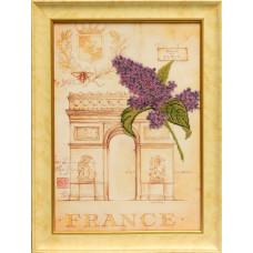 Набор для вышивания бисером Славяночка Романтическая Франция (С-103)