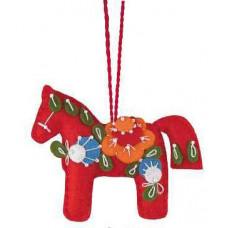 Набор для вышивания изготовления Красный конь (1379АС )