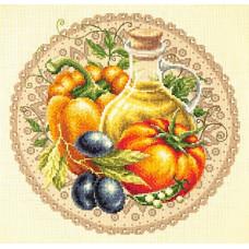 Набор для вышивания крестиком Чудесная игла Среднеземноморский салат (54-01)