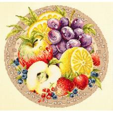 Набор для вышивания крестиком Чудесная игла Фруктовый коктель (54-02)