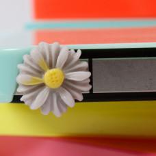 Заглушка разъема телефона Сиреневый цветочек