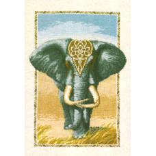 Набор для вышивания крестиком Чарівна мить Слон (289)