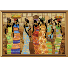 Африканские красавицы (ДК1038)