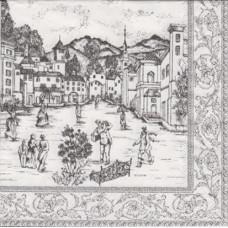 Салфетка Городская площадь (1428)