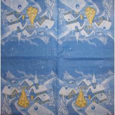Салфетка Синяя ночь (1438)