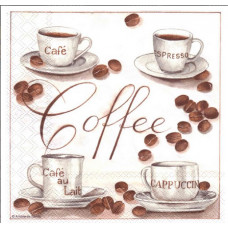 Салфетка Разнообразие кофе (1449)
