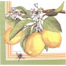 Салфетка Ветвь с лимонами (1450)