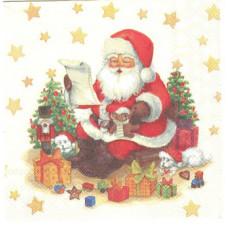 Салфетка Проверка списка подарков (1460)