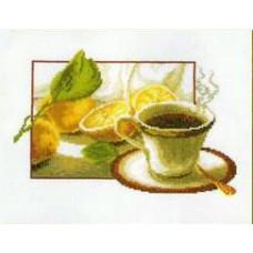 Набор для вышивания крестиком Чарівна мить Аромат кофе (285)
