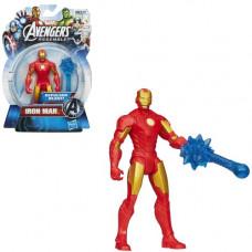 Боевая движущаяся фигурка из серии Мстители - Железный человек (HMVA4432A)