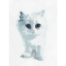 Белый котик (350)