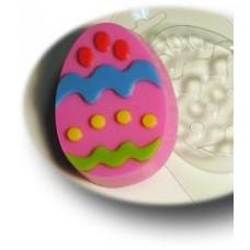 Форма для мыла Яйцо с узором №2