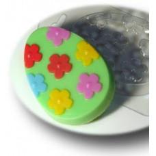 Форма для мыла Яйцо с узором №4