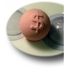 Форма для изготовления «бомбочек» для ванной, Сфера Доллар