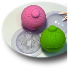 Форма для изготовления «бомбочек» для ванной, Сфера Новогодняя