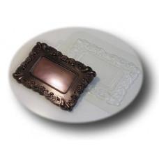 Форма для шоколада Рамка Весенний узор (059)