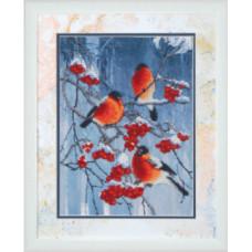 Набор для вышивания бисером Чарівна мить Яркие краски зимы (Б-681)