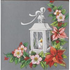 Салфетка Рождественский фонарь (1491)