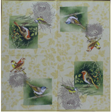 Салфетка Весенние птицы (1500)