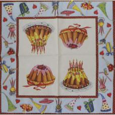 Салфетка Угощение на день рождения (1501)