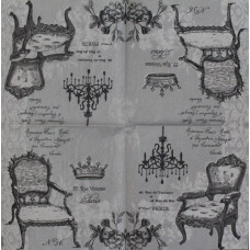 Салфетка Антиквариат (маленькая)(1533)