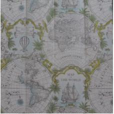Салфетка-платочек Карта мира (1540)