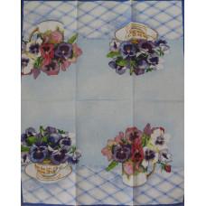Салфетка-полотенце Букеты анюток (1545)