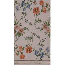 Салфетка-полотенце Маленькие цветы на розовом фоне (1546)