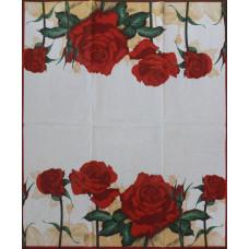 Салфетка-полотенце Алая роза (1550)
