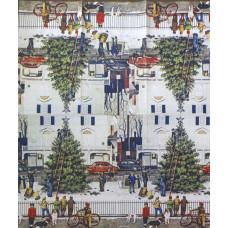 Салфетка-полотенце Городская елка (1442)