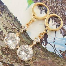 Серьги Алмазные капли