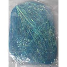 Декоративный волос Блестящий, голубой