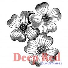 Штамп Dogwood Flowers (3X404239)