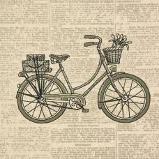 Набор Штампованная вышивка Dimensions Classic Bicycle (72-73721)