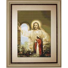 Иисус, стучащийся в дверь (G411)