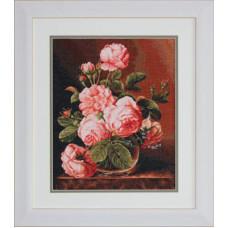 Ваза с розами (G488)
