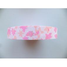 Лента полипропиленовая бледно розовая, 5 м