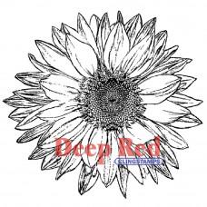 Штамп Large Sunflower (4X500145)