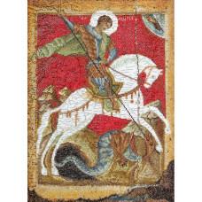 Икона Святого Георгия Победоносца (TG498A)