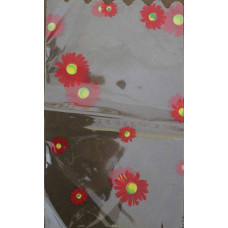 Пакет прозрачный Цветы