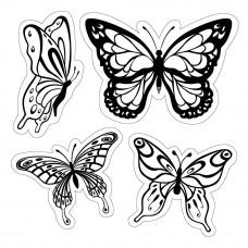 Штамп Butterflies (6060004)