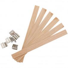 Деревянные органические фитили Wood Large, 6 шт.(1105 73)