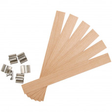 Деревянные органические фитили Wood Extra Large, 6 шт.(1105 75)