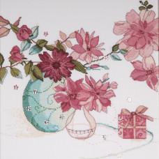 Пастельные цветы (DW2769)