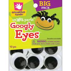 Глазки для игрушек чёрные, 40 мм (8768155E)