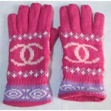 Перчатки Мой цвет - малиновый